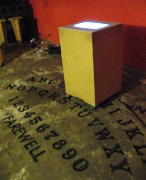 Giant Ouija with Planchette