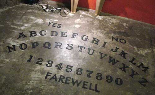 Giant Ouija, for REALS